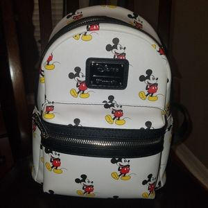 Mini backpack with Mickey Mouse print